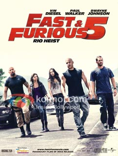 Fast & Furious 5 Preview (Fast & Furious 5 Movie Poster)