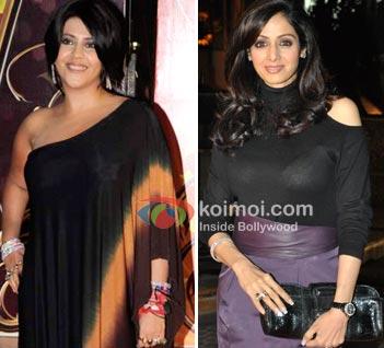 Has Ekta Kapoor Backed Out Of Sreedevi's Film?