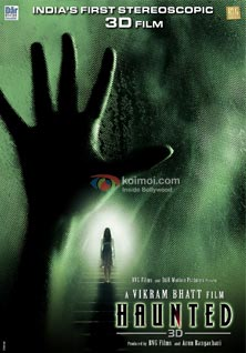 Haunted 3D: Preview (Haunted 3D Movie Poster)