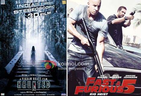 Haunted Does Well At Box Office (Haunted 3D Movie Poster, Fast & Furious 5 Movie Poster)