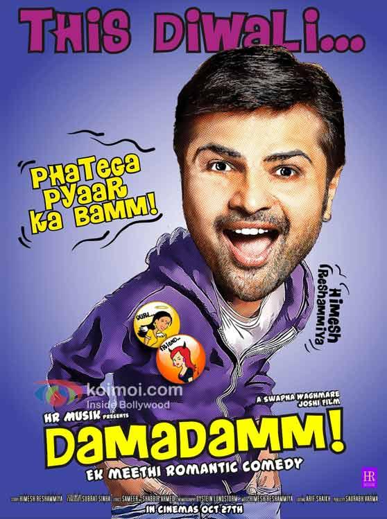 Himesh Reshammiya 'Damadamm' Movie First Look Poster