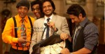 Jaaved Jaafery, Ashish Chowdhry, Riteish Deshmukh, Arshad Warsi (Double Dhamaal Movie Still)