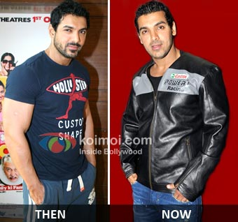 John Abraham Minus The Muscles