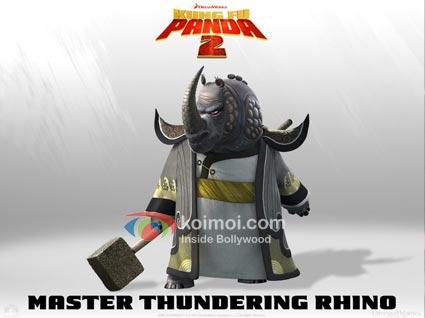 Kung Fu Panda 2: Meet The Characters - Master Thundering Rhino