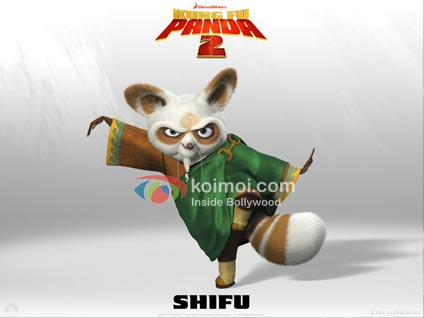 Kung Fu Panda 2: Meet The Characters - Shifu