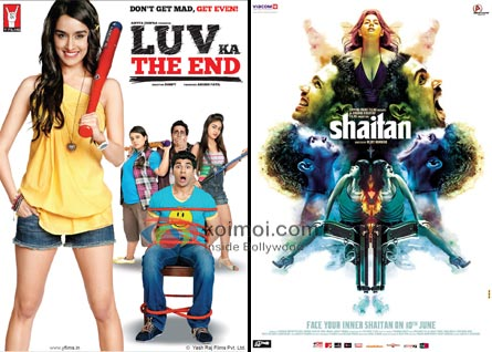 Luv Ka The End Movie Poster, Shaitan Movie Poster