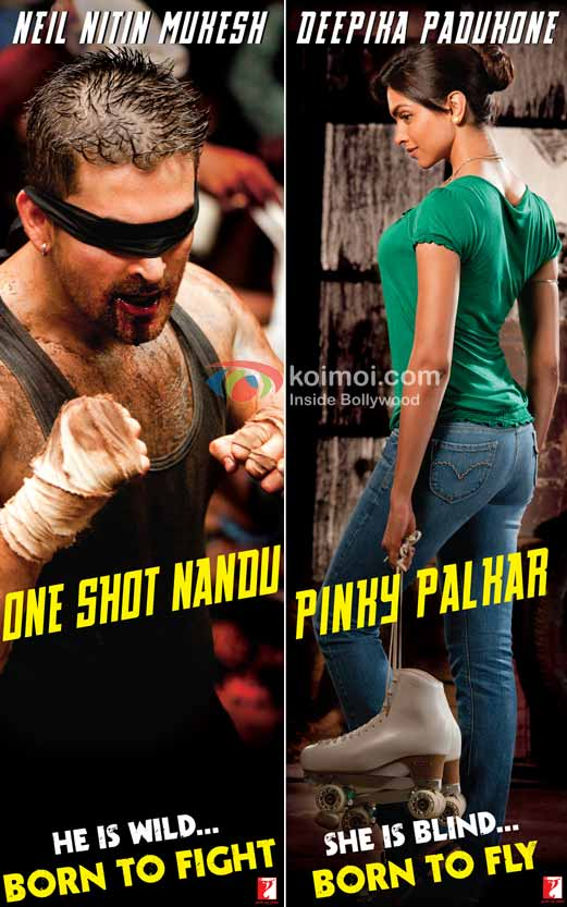 Neil Nitin Mukesh, Deepika Padukone ('Lafangey Parindey' Movie First Look)