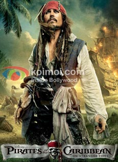 Pirates Debuts US Box-Office With $90 Million (Pirates Of The Caribbean: On Stranger Tides Poster)