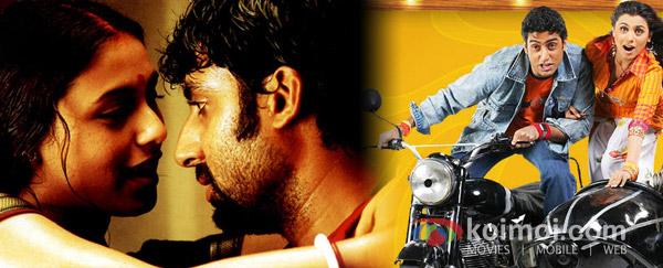 Rani Mukherjee, Abhishek Bachchan ('Yuva' Movie Stills), Abhishek Bachchan, Rani Mukherjee (Bunty Aur Babli Movie Stills)