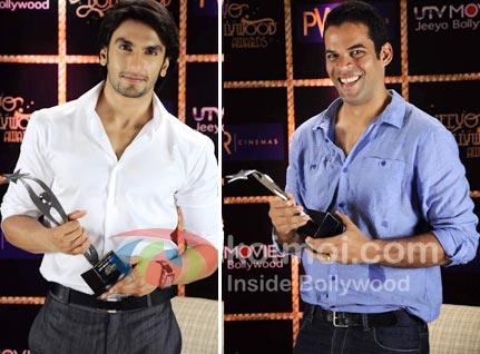 Ranveer Singh, Vikramaditya Motwane Win Viewers Awards