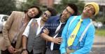 Riteish Deshmukh, Arshad Warsi, Ashish Chowdhry, Jaaved Jaafery (Double Dhamaal Movie Stills)