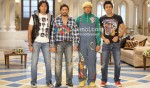 Riteish Deshmukh, Arshad Warsi, Jaaved Jaafery, Ashish Chowdhry (Double Dhamaal Movie Stills)
