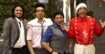 Riteish Deshmukh, Ashish Chowdhry, Arshad Warsi, Jaaved Jaafery (Double Dhamaal Movie Stills)
