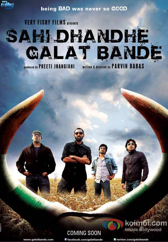 Sahi Dhandhe Galat Bande Movie First Look Poster
