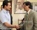Saif Ali Khan, Manoj Bajpay (Aarakshan Movie Stills)