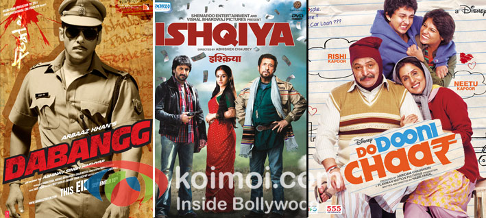 Dabangg, Ishqiya, Do Dooni Chaar Win- National Awards