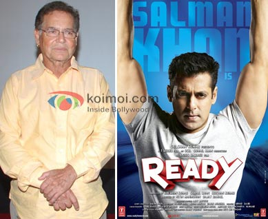 Salman Khan's Dad Ready: Buys CPCI Rajasthan's Distribution Rights (Salim Khan, Salman Khan Ready Movie Poster)