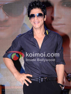 Shah Rukh Khan Takes It On The Chin