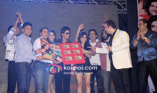 Sunil A. Lulla, Giselle Monteiro, Shahrukh Khan, Zoa Morani, Satyajeet Dubey, Pritam Chakraborty, Roshan Abbas Unveils Always Kabhi Kabhi Music