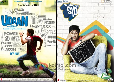 Udaan Movie Poster, Wake Up Sid Movie Poster