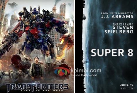 Transformers 3 Movie Poster, Super 8 Movie Poster