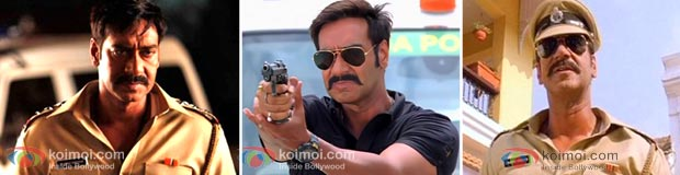 Ajay Devgan In Khakee (Singham Movie Stills)
