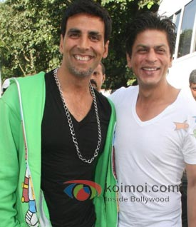 Akshay Kumar, Shah Rukh Khan
