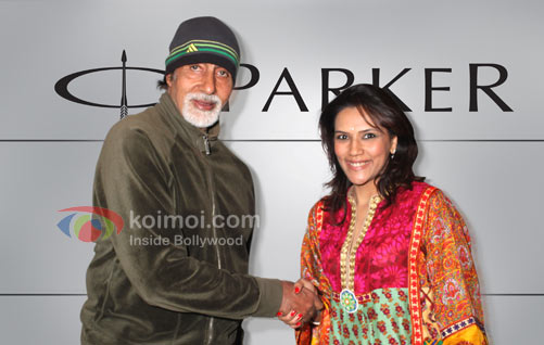 Amitabh Bachchan To Continue Pitching For Parker