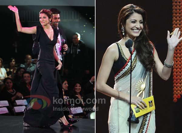 Anushka Sharma, Karan Johar Dazzles At IIFA!