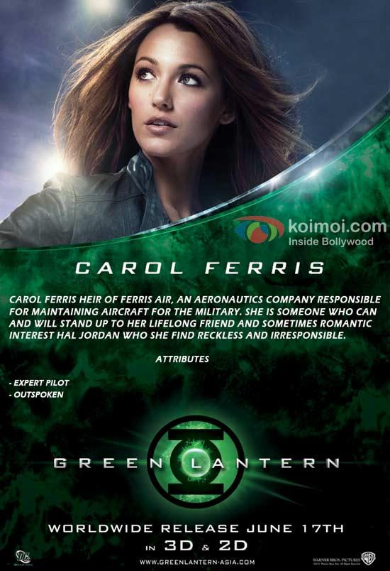 Green Lantern: Carol (Blake Lively)