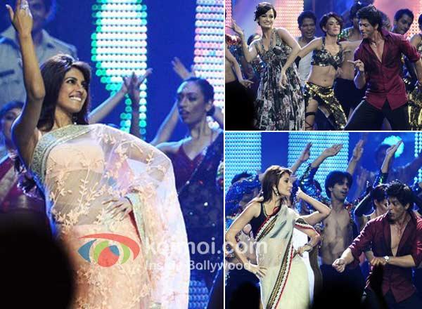 Priyanka Chopra, Dia Mirza, Anushka Shamra, Shah Rukh Khan Dazzles At IIFA!