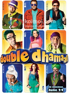 Double Dhamaal Review (Double Dhamaal Movie Poster)