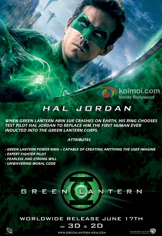 Green Lantern: Hal (Ryan Reynolds)