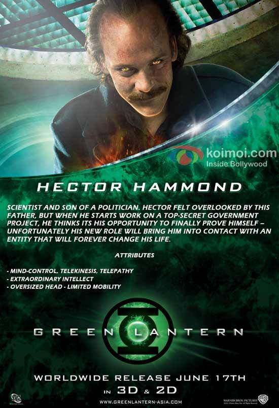Green Lantern: Hector (Peter Sarsgaard)