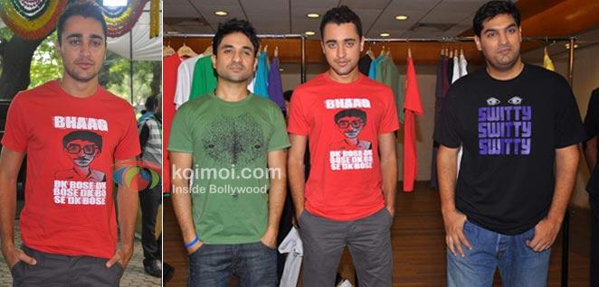 Imran Khan Wearing Their Movie On Their T-Shirt