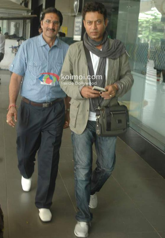 Dia Mirza Return From Toronto IIFA