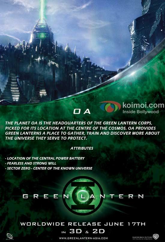 Green Lantern: Oa