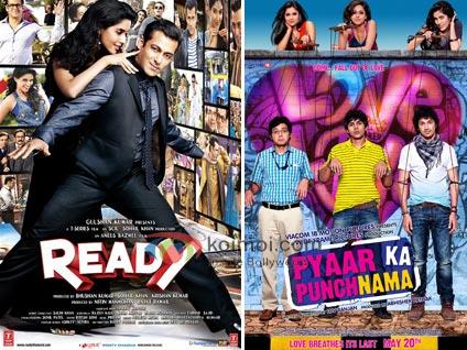 Ready's Bumper Start, Pyaar Ka Punchnama Steady: Box-Office Report