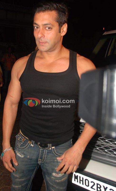 Salman Khan Body Look
