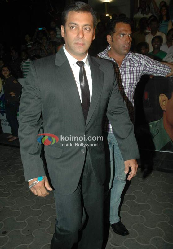 Salman Khan In Black-And-White Three Piece Suit