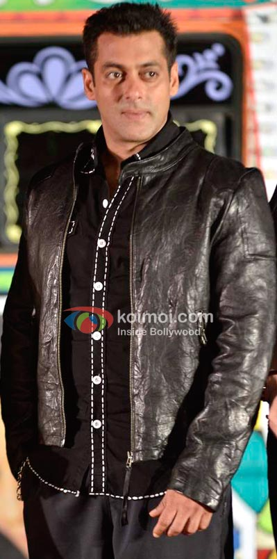 Salman Khan In Black Jacket Ready Look