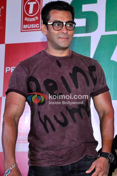 Salman Khan In Being Human T-Shirt With Glasses
