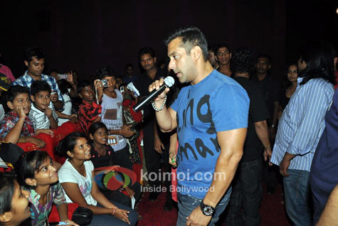 Salman Khan Screens Ready For NGOs Instead Of Paid Previews