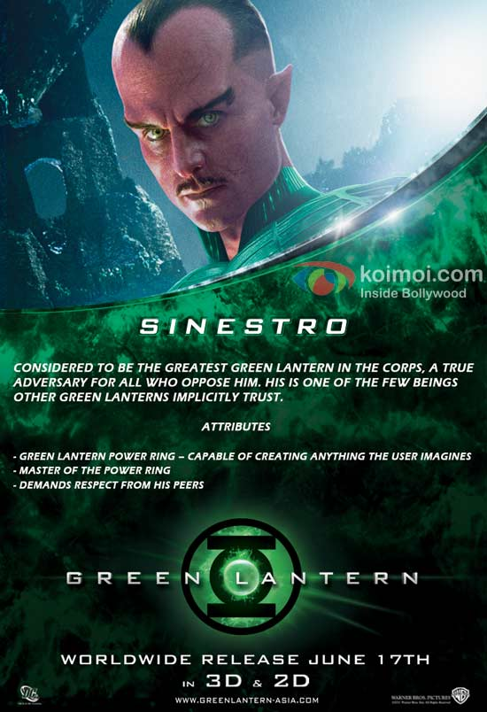 Green Lantern: Sinestro (Mark Strong)