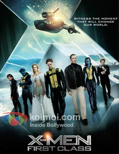 X-Men: First Class Review (X-Men: First Class Movie Poster)