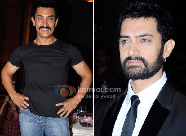 Aamir Khan Moustache Man