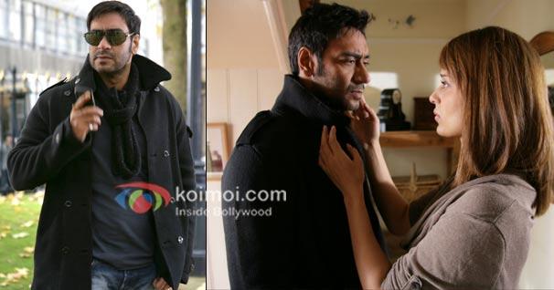 Ajay Devgan and Kangna Ranaut in a still from TEZZ
