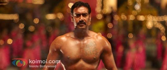 Ajay Devgan in Singham.