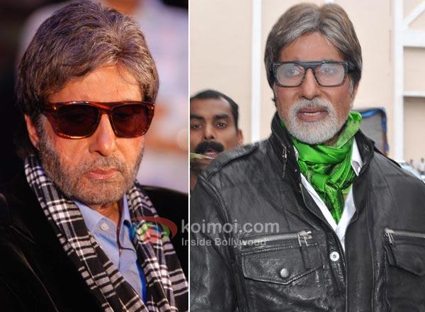 Amitabh Bachchan Moustache Man