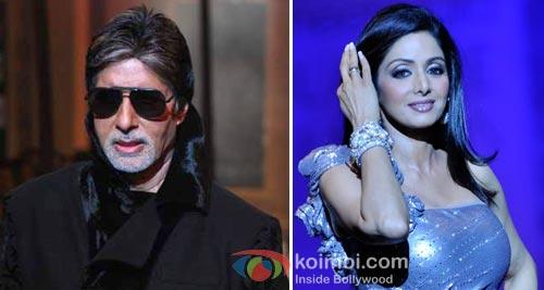 Amitabh Bachchan & Sreedevi